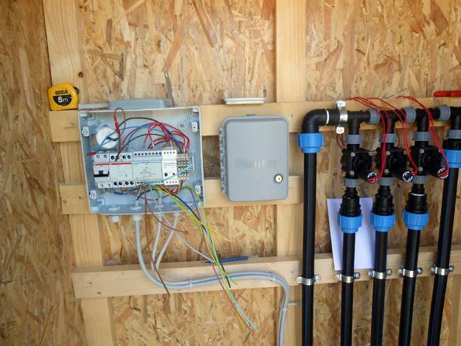 Progettazione realizzazione impianti elettrici antincendio for Impianto irrigazione automatico